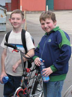 Eduard and Alex - Woodmere Bike Safety Club - Spring 2007