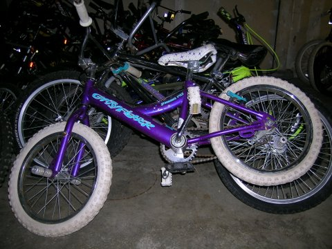 Purple HBD Bike Pre-Clean