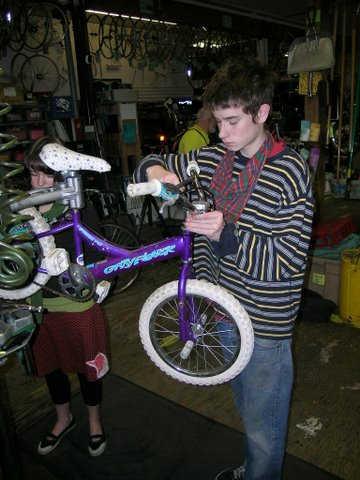 HBD Bike Purple Cleaned