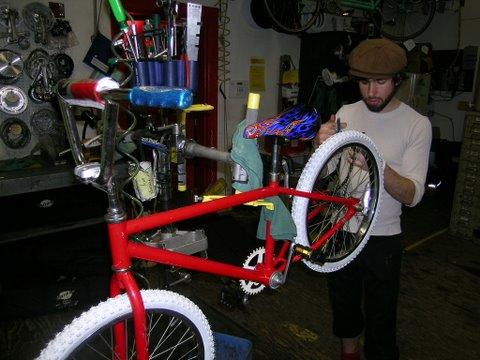 HBD Bike Red Fixed