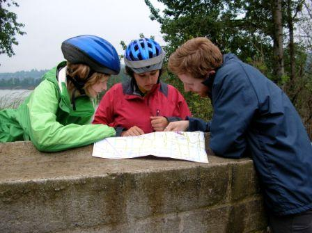 pedal power — route planning