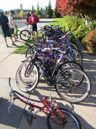 Forest Park Elementary Bike Collection