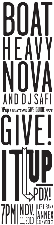 Give! It Up PDX!