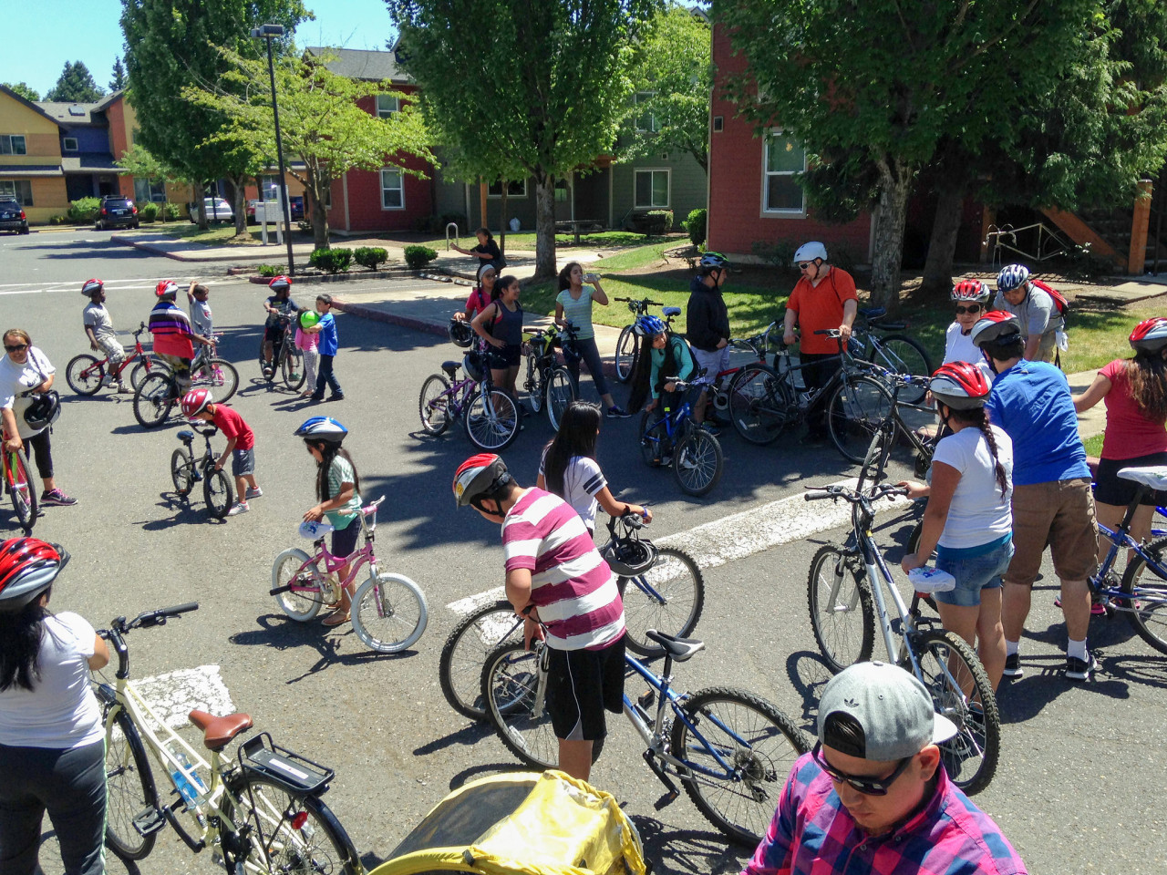 ABC leading summer bike rides (Photo by Lale Santelices)
