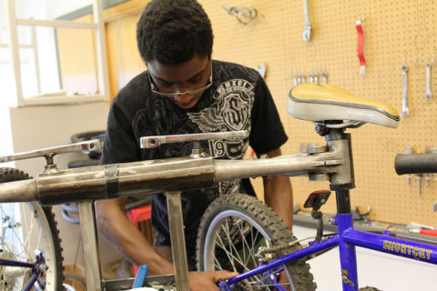 Helensview High School Bike Works