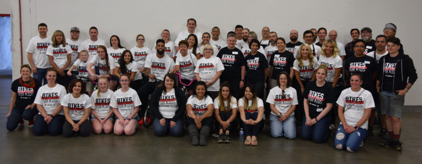 Volunteers and staff, and Allen Crabbe!